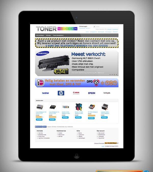 "Webdesign :: 0052 :: ""Toner Nijmegen"""